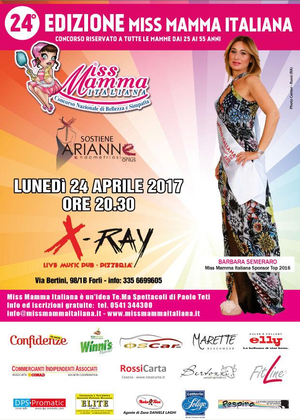 Locandina selezione Forlì | Miss Mamma Italiana 2017