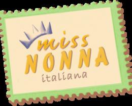 Logo concorso nazionale di bellezza e simpatia Miss Nonna Italiana
