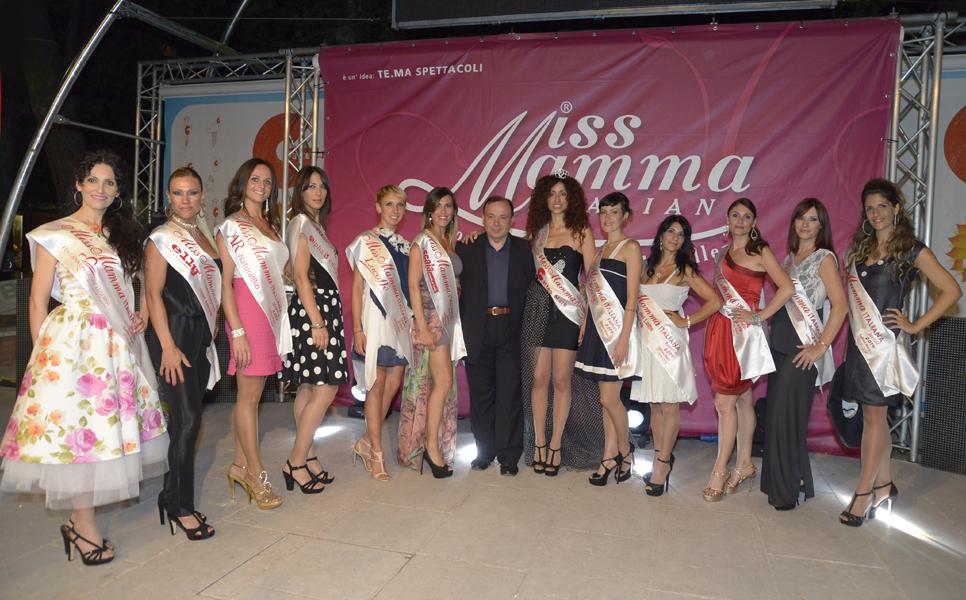 2014 vincitrici Miss Mamma Italiana