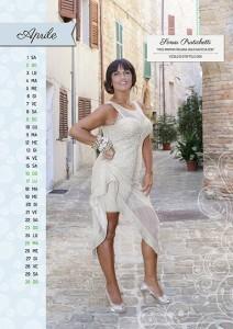 Calendario 2017 Miss Mamma Italiana Gold - Aprile
