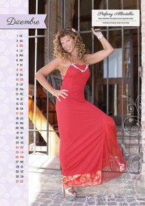 Calendario 2017 Miss Mamma Italiana Gold - Dicembre