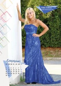 Calendario 2017 Miss Mamma Italiana - Gennaio