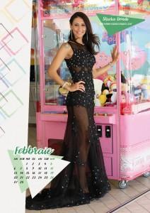 Calendario 2017 Miss Mamma Italiana - Febbraio