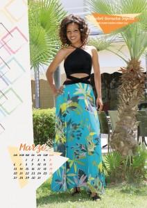Calendario 2017 Miss Mamma Italiana - Marzo