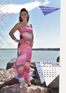 Calendario 2017 Miss Mamma Italiana - Aprile