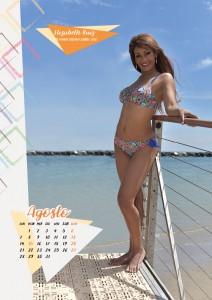 Calendario 2017 Miss Mamma Italiana - Agosto