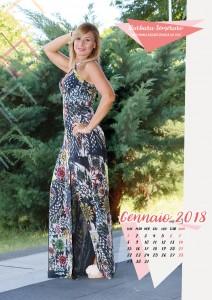 Calendario 2017 Miss Mamma Italiana - Gennaio 2018