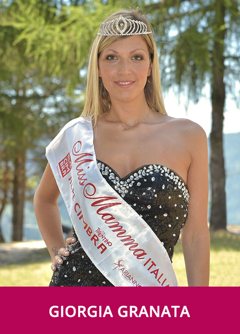 Giorgia Granata vincitrice Miss Mamma Italiana 2017