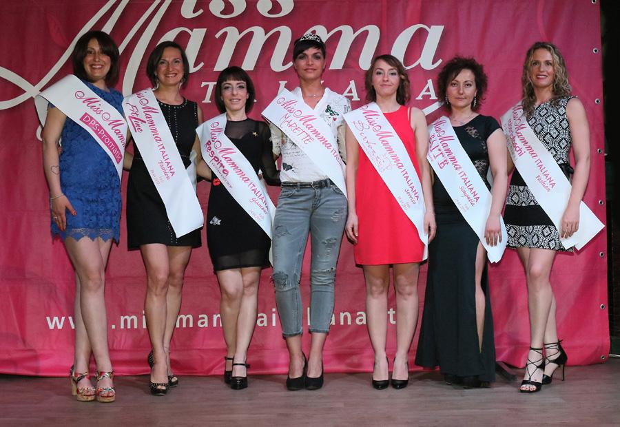 Vincitrici selezione Miss Mamma Italiana 2017 a Forlì