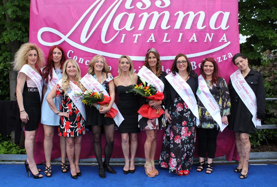 Vincitrici selezione Miss Mamma Italiana 2017 ad Azergrande Padova