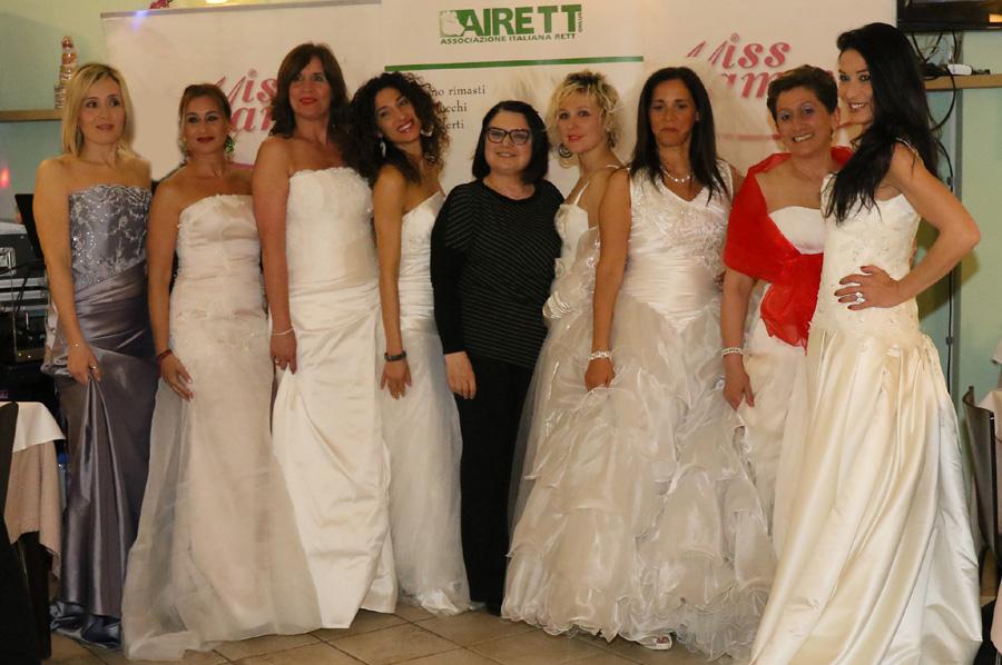 Miss Mamma Italiana al Gran Galà di Cervia con gli abiti da sposa dell'Atelier Califa