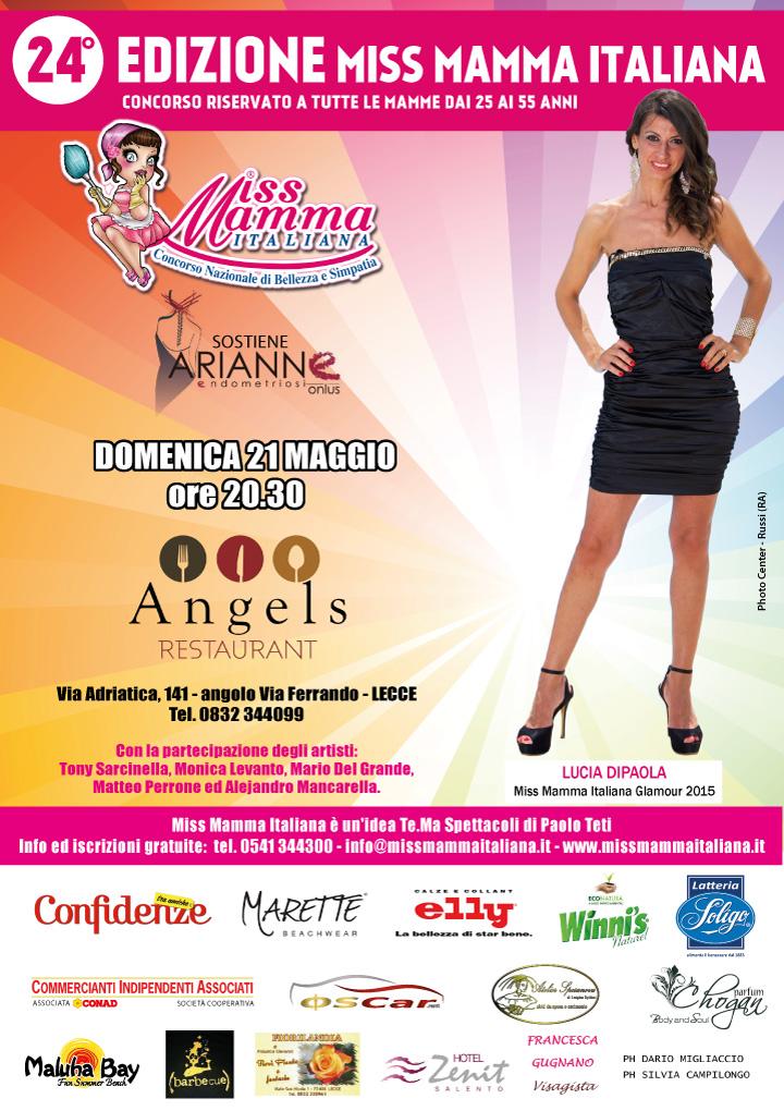 Locandina selezione Miss Mamma Italiana 2017 Lecce