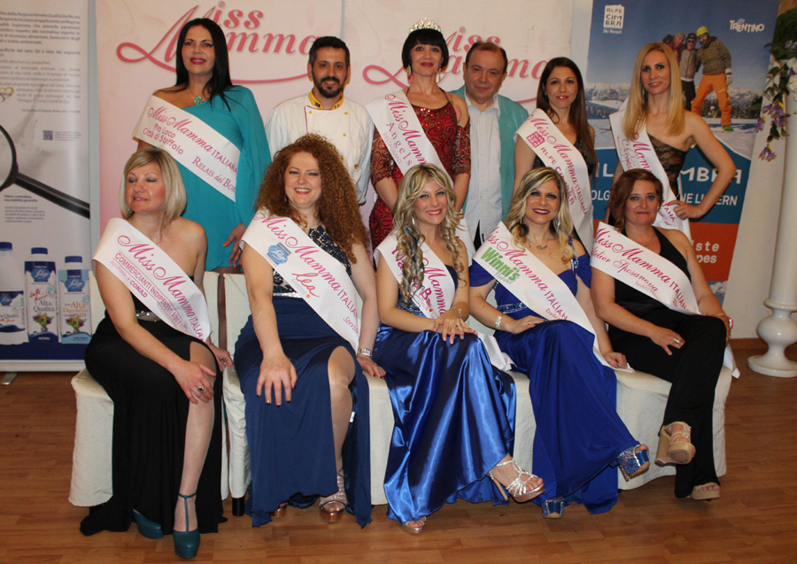 Vincitrici della selezione Miss Mamma Italiana 2017 a Lecce