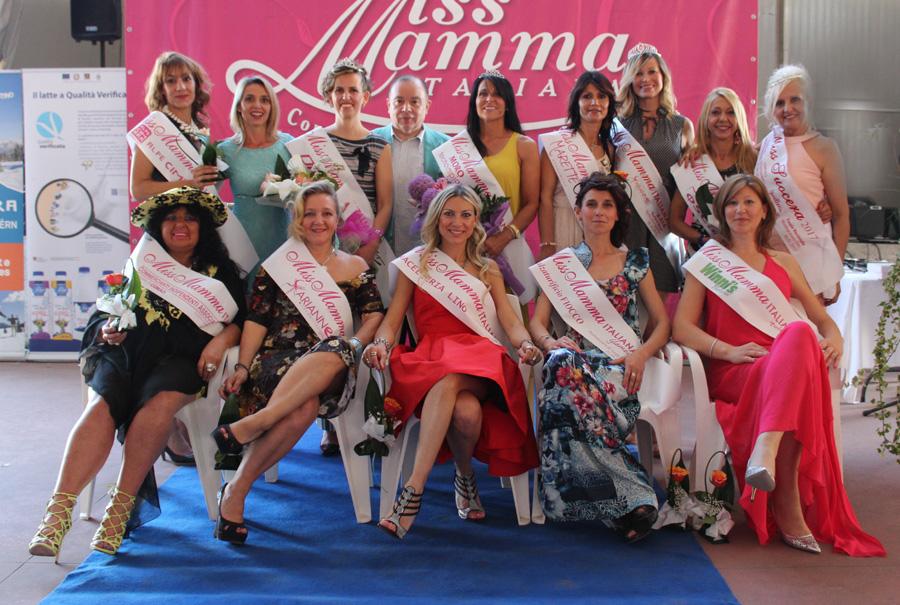Vincitrici selezione concorso di bellezza Miss Mamma Italiana 2017 a Pontepossero di Sorgà Verona