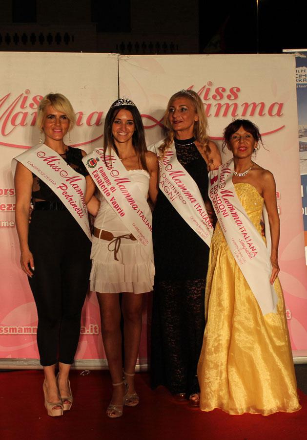 Vincitrici selezione Miss Mamma Italiana 2017 a Casaletto Vaprio