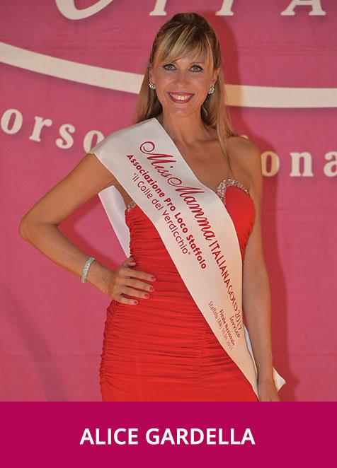 Alice Gardella Miss Mamma Italiana Gold Sorriso 2017