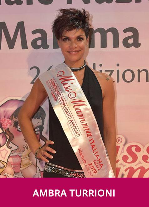 Ambra Turrioni Miss Mamma Italiana Solare 2017
