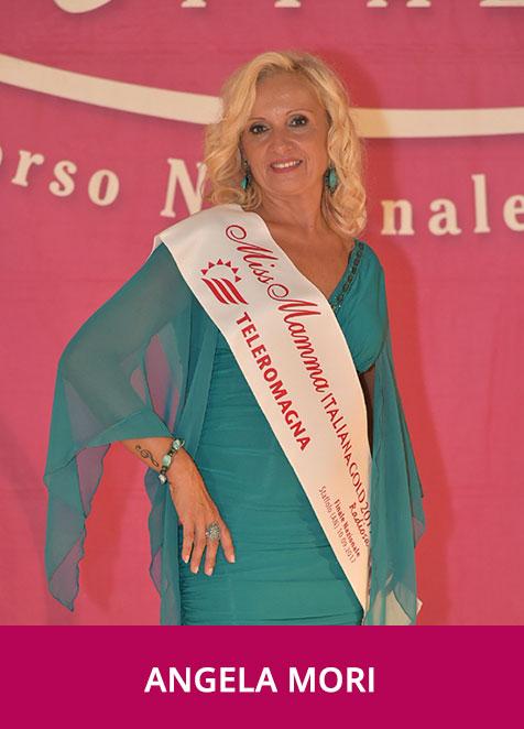 Angela Mori Miss Mamma Italiana Gold Radiosa 2017