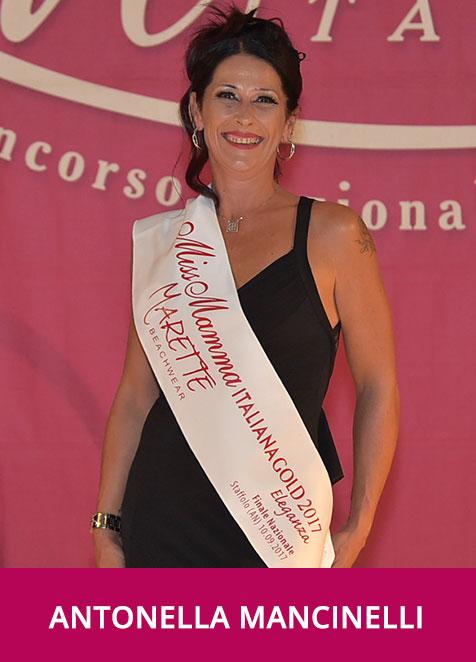 Antonella Mancinelli Miss Mamma Italiana GOLD Eleganza 2017