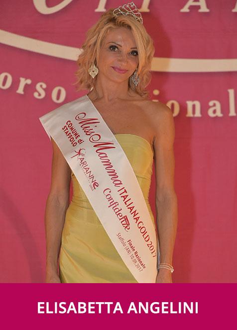 Elisabetta Angelini Miss Mamma Italiana Gold  2017