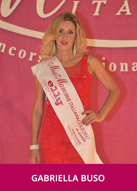 Gabriella Buso Miss Mamma Italiana Gold in Gambe 2017
