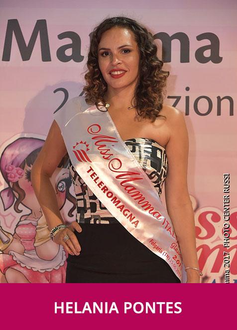 Helania Dos Santos Pontes Miss Mamma Italiana Glamour 2017