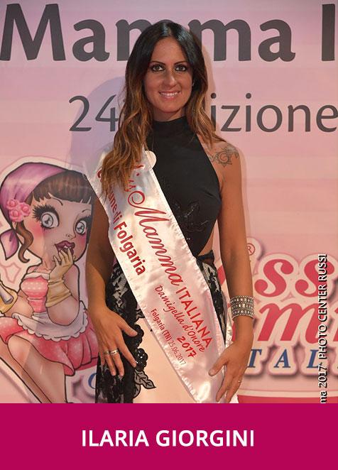 Ilaria Giorgini Miss Mamma Italiana Damigella D'Onore 2017