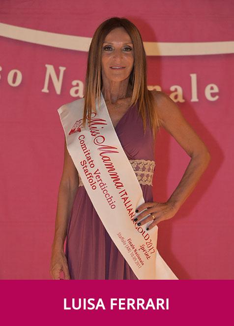 Luisa Ferrari Miss Mamma Italiana Gold Sprint 2017