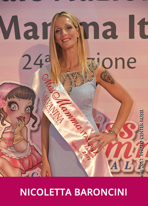 Nicoletta Baroncini Miss Mamma Italiana Radiosa 2017