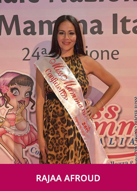 Rajaa Afroud Miss Mamma Italiana Romantica 2017