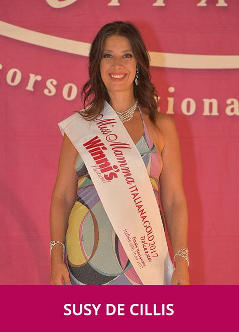 Susy Del Cillis Miss Mamma Italiana Gold Dolcezza 2017