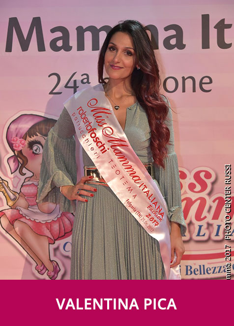 Valentina Pica Miss Mamma Italiana Fashion 2017