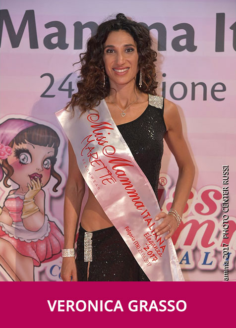Veronica Grasso Miss Mamma Italiana Eleganza 2017