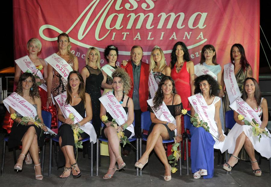 Vincitrici selezione Miss Mamma Italiana 2018 ad Andora, Savona