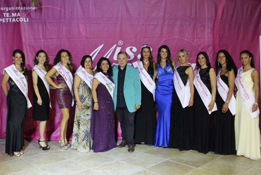 Vincitrici selezione concorso Miss Mamma Italiana 2018 Bari