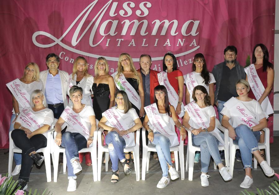 Vincitrici selezione Miss Mamma Italiana 2018 a Legnaro, Padova