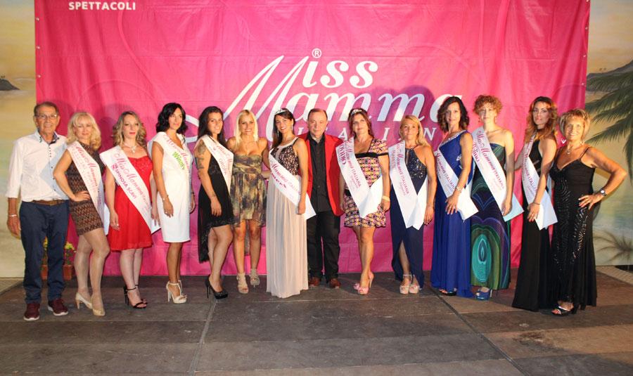 Vincitrici selezione Miss Mamma Italiana 2018 a Sulmona, Aquila