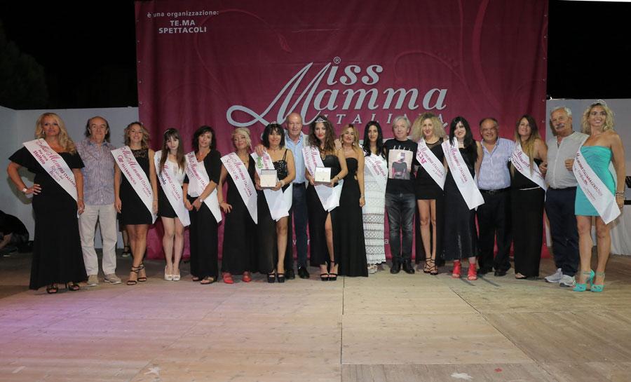 Vincitrici selezione Miss Mamma Italiana 2018 a Lido Adriano Ravenna