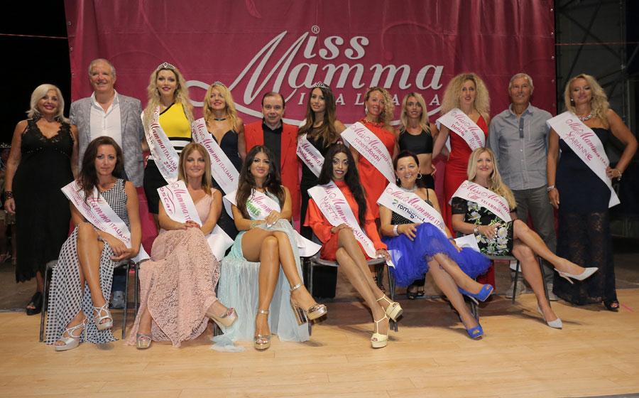 Vincitrici selezione Miss Mamma Italiana 2018 a Lignano Sabbiadoro Udine