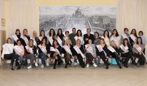 La Nazionale di Miss Mamma Italiana a Roma