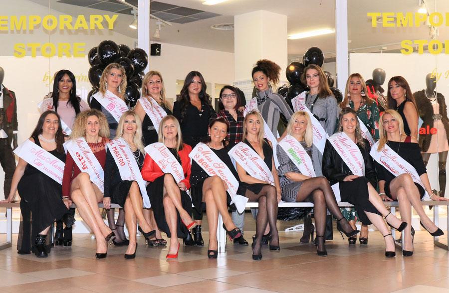 Shooting fotografico Miss Mamma Italiana a Villorba Treviso