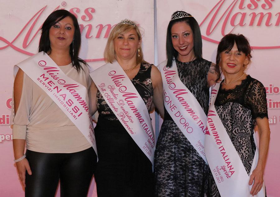 Vincitrici selezione Miss Mamma Italiana 2018 a Telgate Bergamo