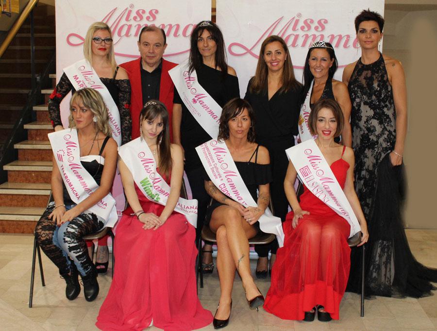 Vincitrici selezioni Miss Mamma Italiana 2018 a Trevi Perugia