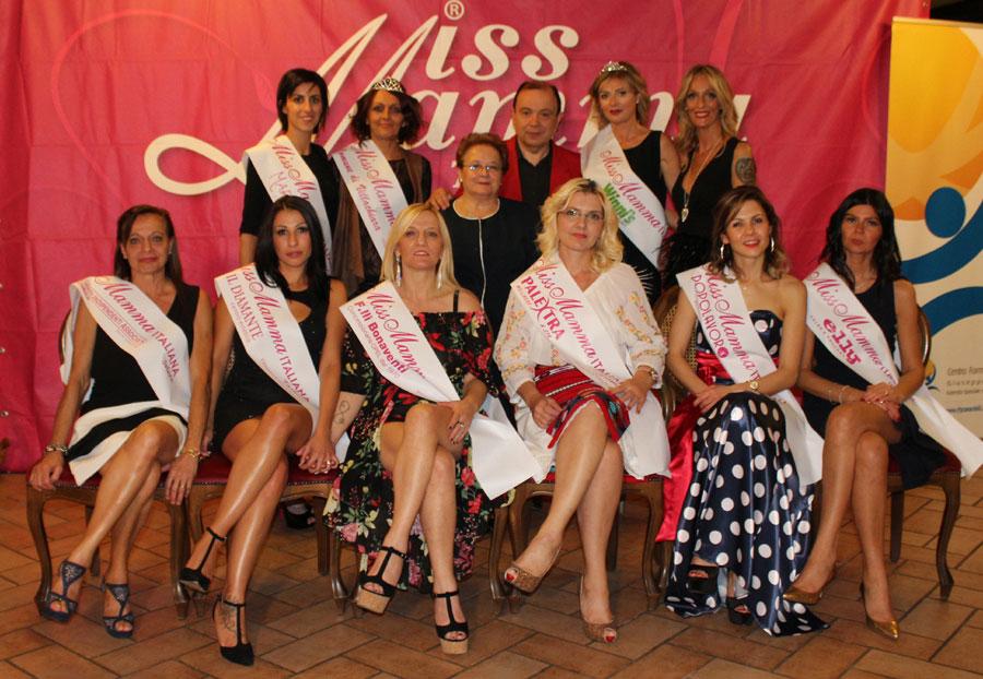 Vincitrici selezione Miss Mamma Italiana 2018 Villagana Brescia