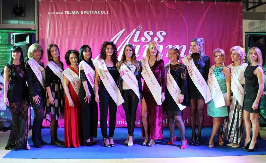 Vincitrici selezione Miss Mamma Italiana 2018 a Bolzano