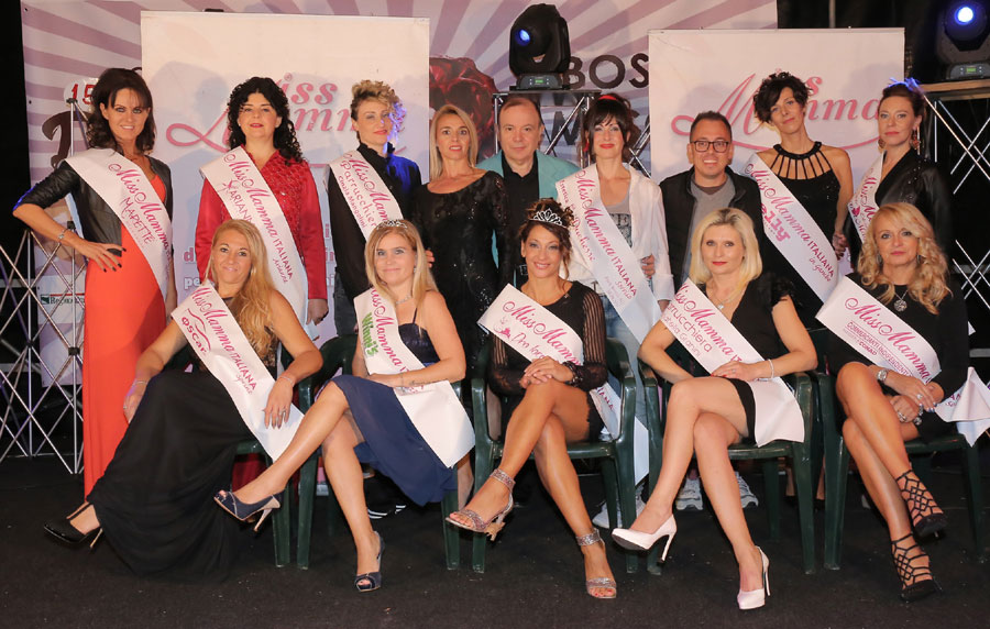 Vincitrici selezioni Miss Mamma Italiana 2018 Bosco Mesola Ferrara