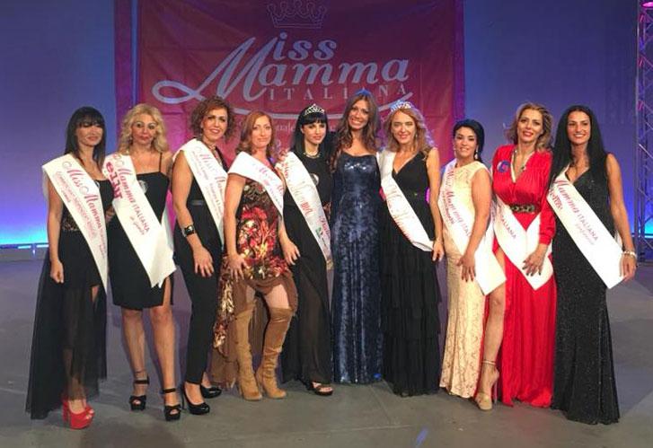Vincitrici selezione Miss Mamma Italiana 2018 a Marcianise (Caserta)