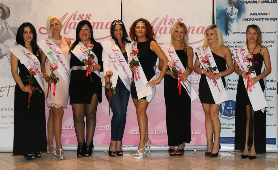 Vincitrici selezione Miss Mamma Italiana 2018 Massa Lombarda