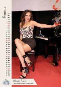 Calendario 2018 Miss Mamma Italiana - Gennaio