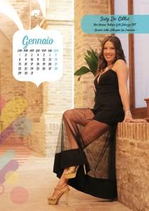Calendario 2018 Miss Mamma Italiana Gold - Gennaio